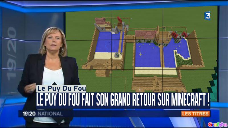 Map puy du fou forum - Video minecraft construction de fou ...